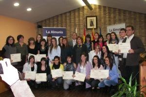 Con los ganadores del 1º premio